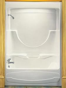 two piece shower tub unit. MAAX Concerto II Two Piece Beautiful Baths  Remodeling Made Easy