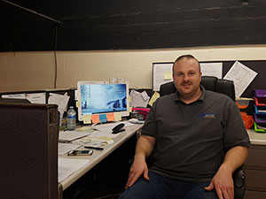 Kenton Bell - Office Manager