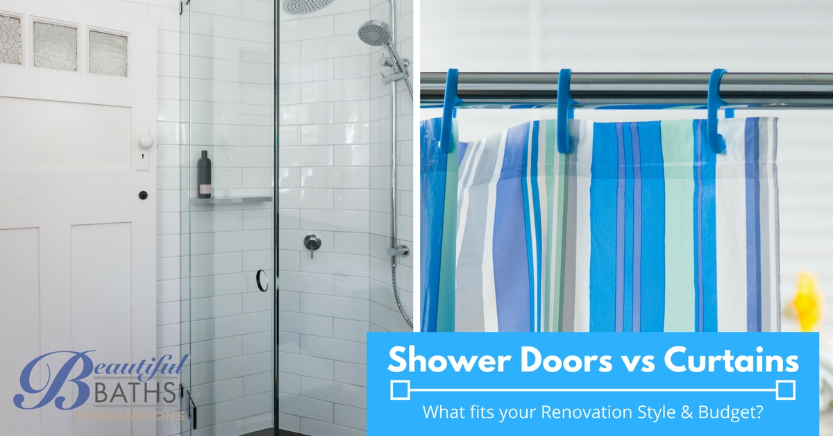 Shower Doors Vs Shower Curtains - What\'s right for your Renovation ...